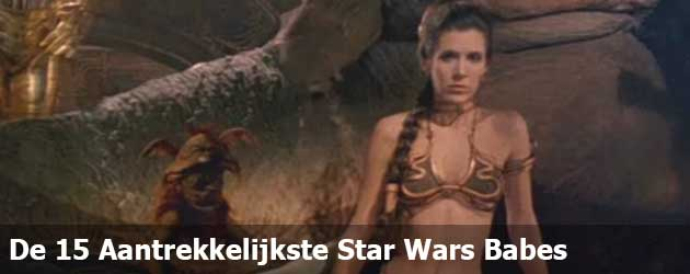 Wie zijn de aller mooiste dames die ooit in Star Wars te zien zijn geweest.