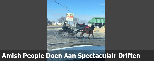 Amish People Doen Aan Spectaculair Driften