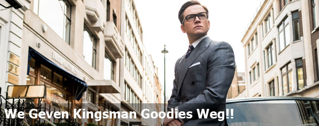 We Geven Kingsman Goodies Weg!!