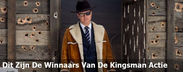 Dit Zijn De Winnaars Van De Kingsman Actie