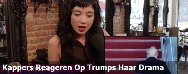 Kappers Reageren Op Trumps Haar Drama