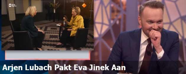 Arjen Lubach Pakt Eva Jinek Aan