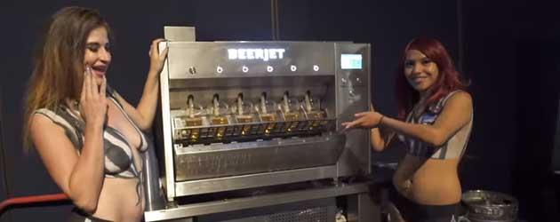 De Beerjet Tapt 6 Biertjes In 7 Seconden