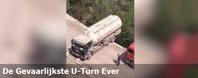 De Gevaarlijkste U-Turn Ever
