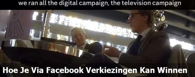 Hoe je Via Facebook Verkiezingen Kan Winnen