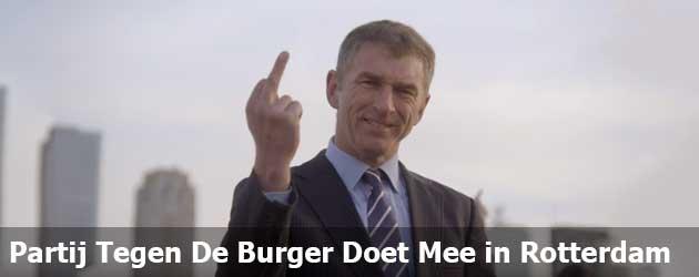 Partij Tegen De Burger Doet Mee in Rotterdam