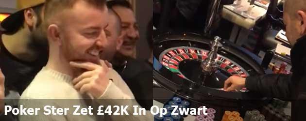 Poker Ster Zet £42K In Op Zwart