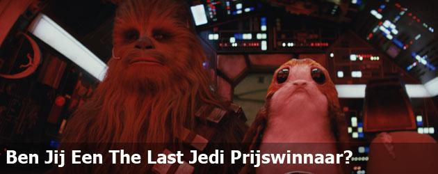 Ben Jij Een The Last Jedi Prijswinnaar?