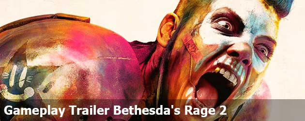 Gameplay Trailer Bethesda's Rage 2