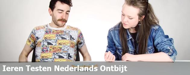 Ieren Testen Nederlands Ontbijt