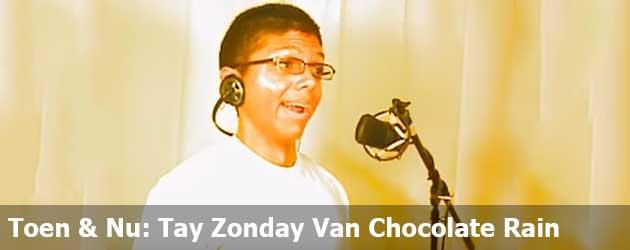 Toen & Nu: Tay Zonday Van Chocolate Rain