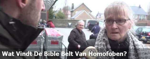 Wat Vindt De Bible Belt Van Homofoben?