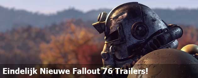 Eindelijk Nieuwe Fallout 76 Trailers!