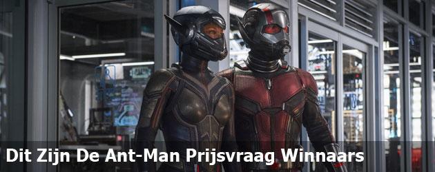 Dit Zijn De Ant-Man Prijsvraag Winnaars