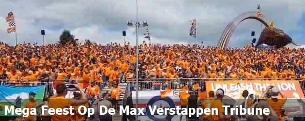 Mega Feest Op De Max Verstappen Tribune