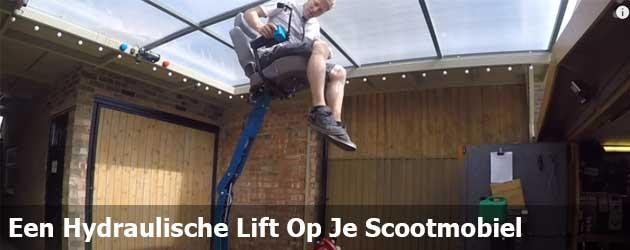 Een Hydraulische Lift Op Je Scootmobiel Bouwen