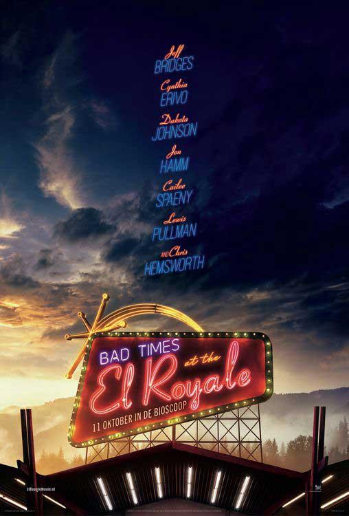 De Film Die Je Moet Zien; Bad Times At The El Royale