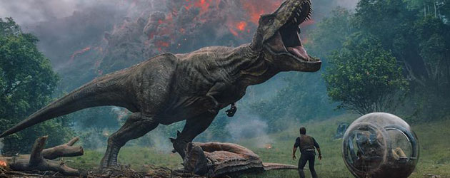 Win Een Jurassic World: Fallen Kingdom Bluray