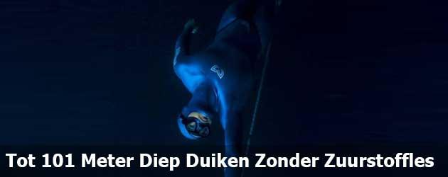 Tot 101 Meter Diep Duiken Zonder Zuurstoffles