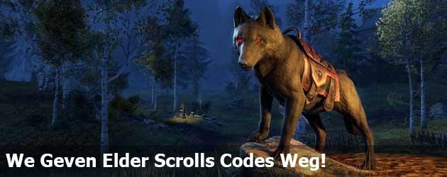 We Geven Elder Scrolls Codes Weg!