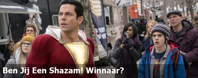 Ben Jij Een Shazam! Winnaar?
