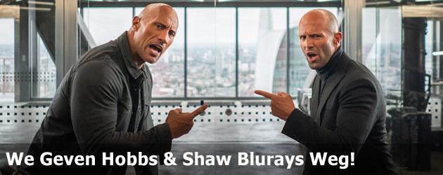 We Geven Hobbs & Shaw Blurays Weg!